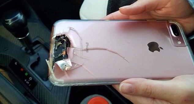 Un iPhone le salvó la vida en Las Vegas