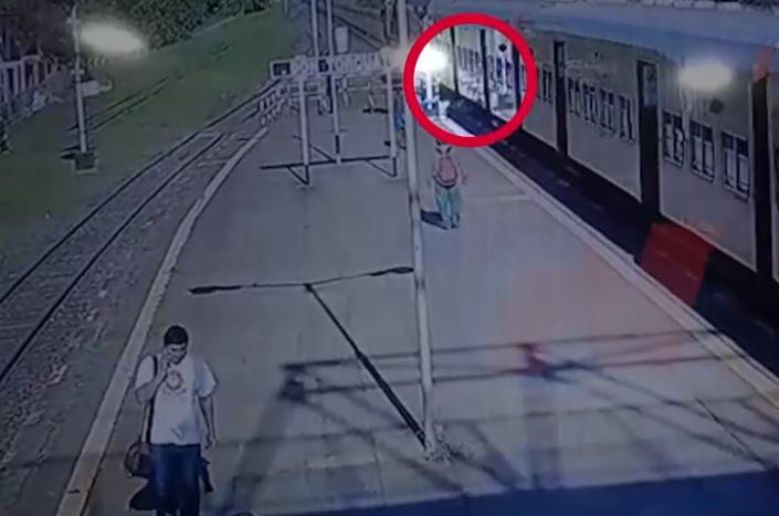 Detuvieron al sospechoso de tirar del tren a Brenda Bigiatti