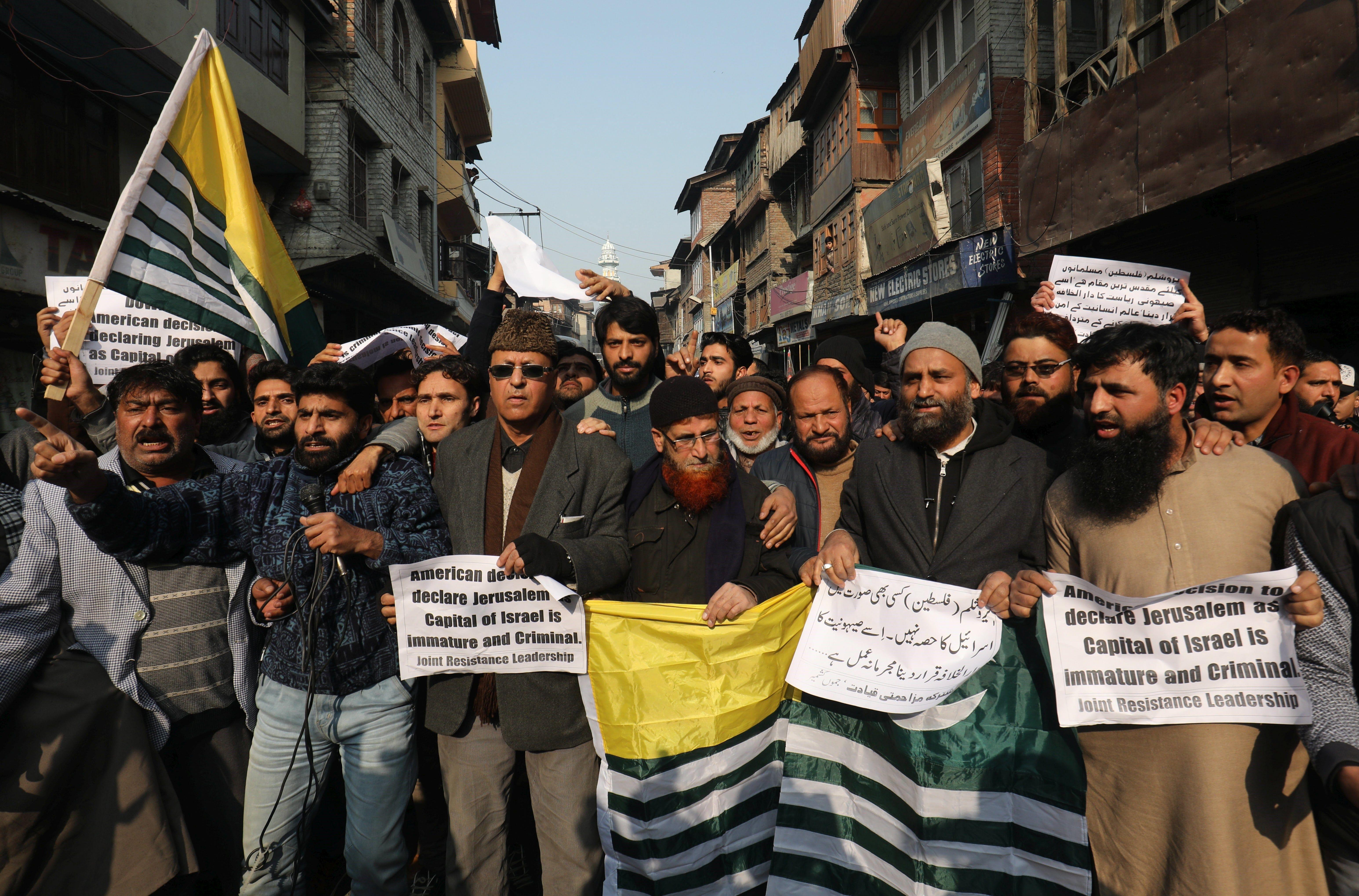 Masiva protesta en Indonesia por Jerusalén