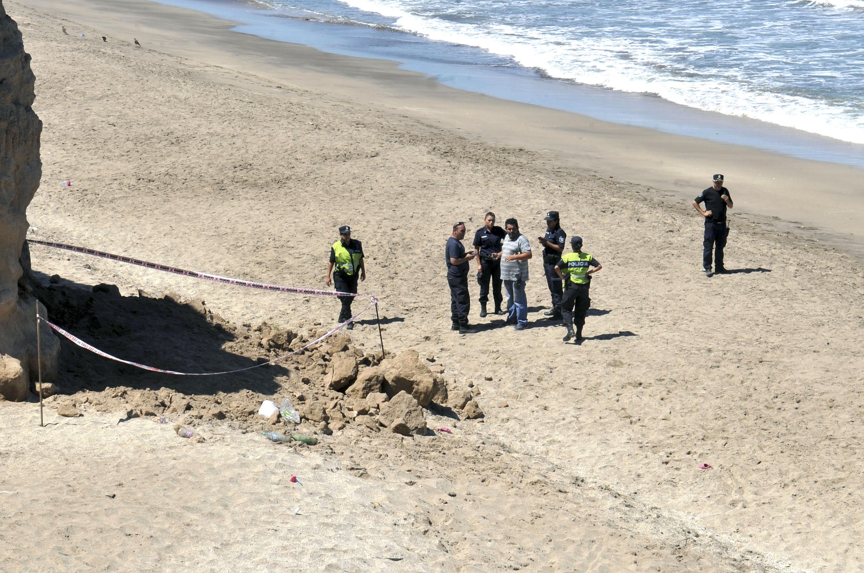 Una nena murió aplastada en una playa de Mar del Plata