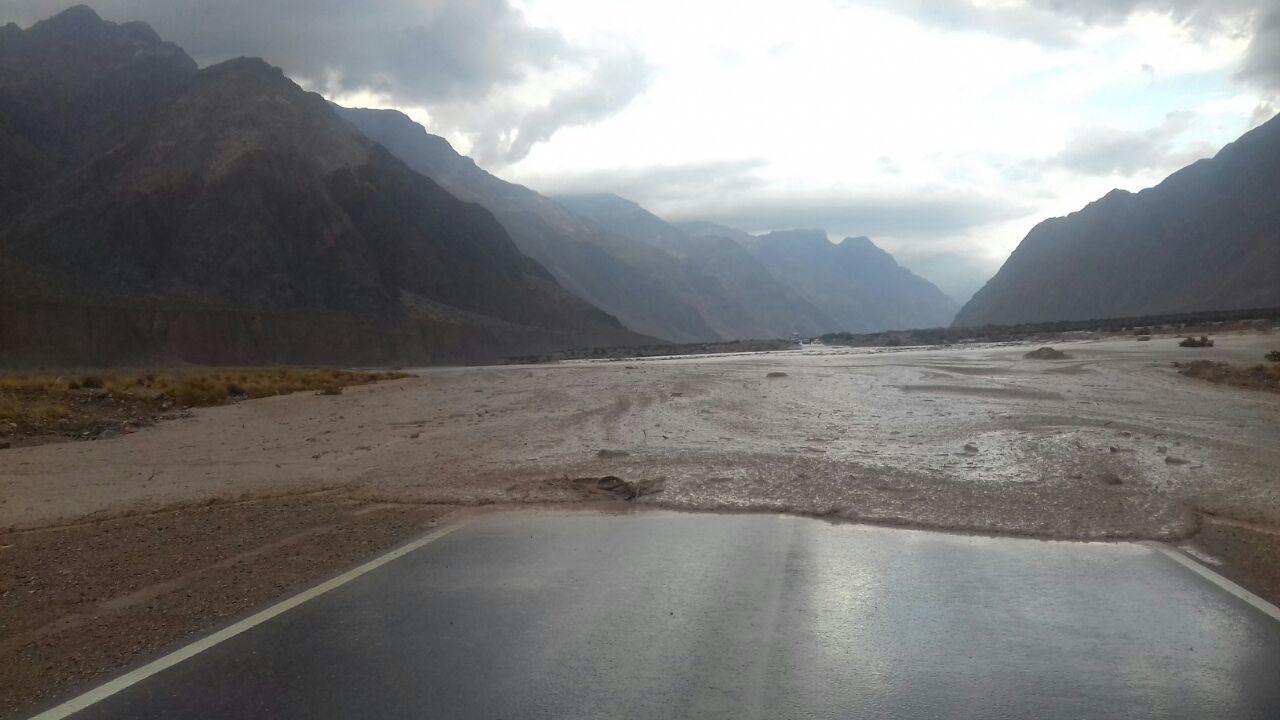 Paso a Chile cerrado por un alud en la alta montaña