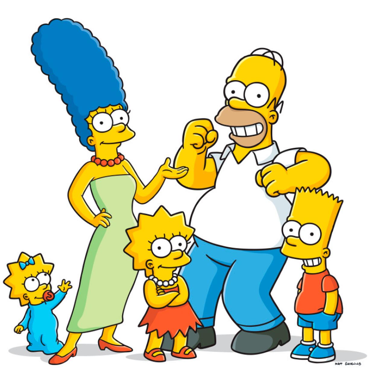 Герои симпсонов по именам картинки