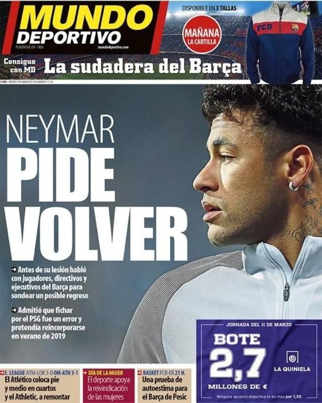 Diario francés asegura que Edinson Cavani piensa en dejar el PSG