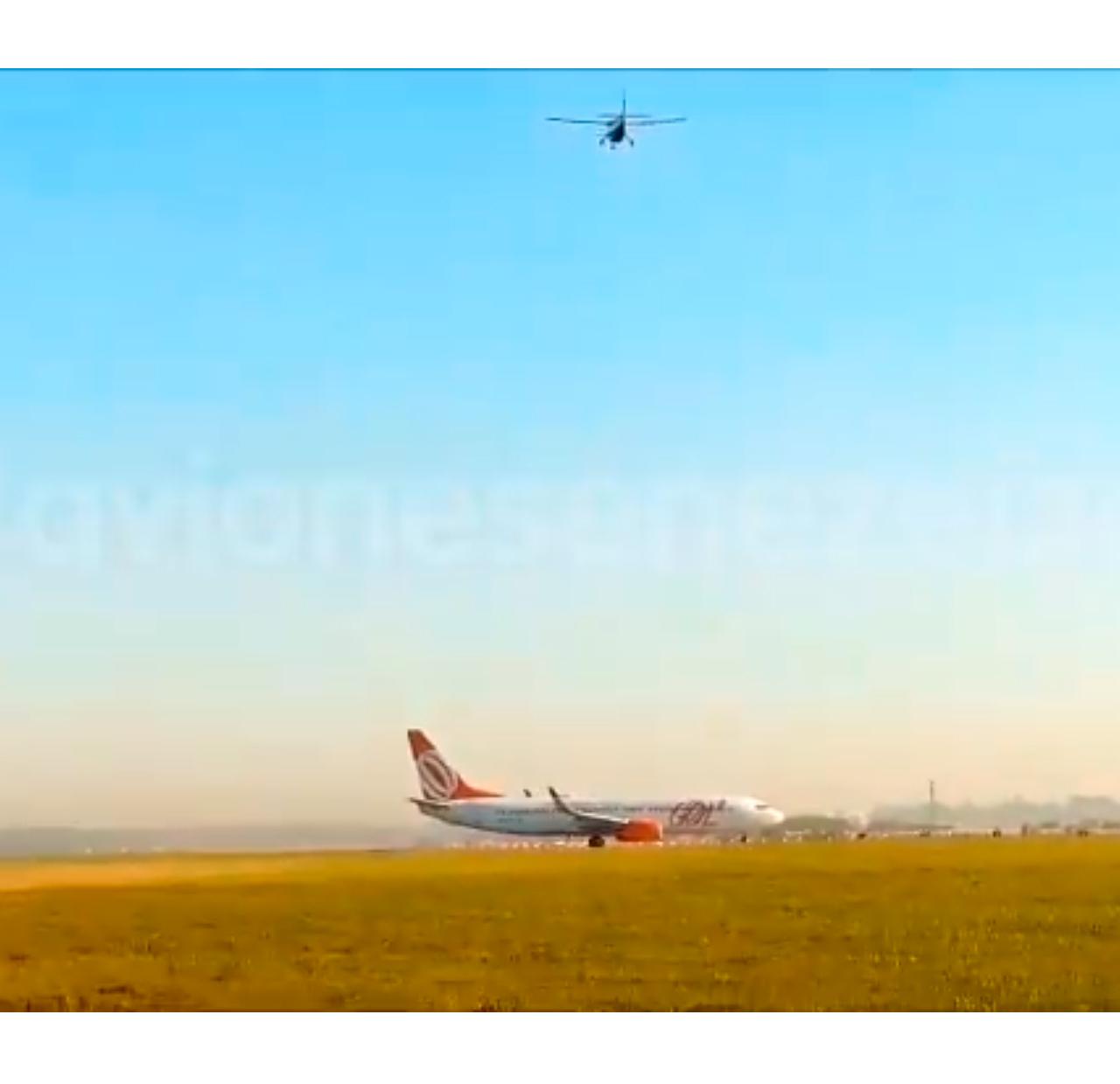 Por error de un piloto, casi chocan dos aviones — Ezeiza