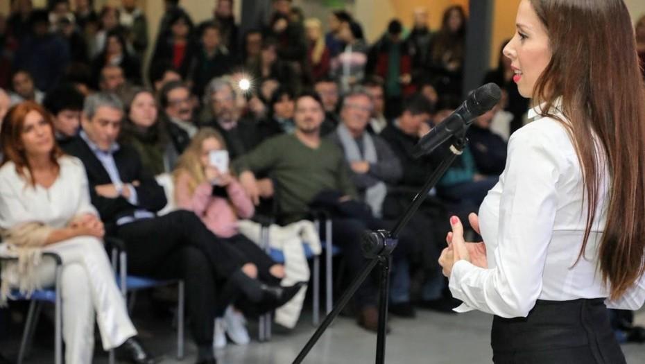 Victoria Onetto, nueva secretaria de Cultura de Avellaneda