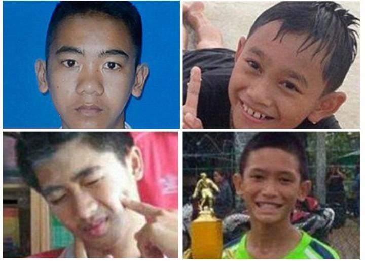 Los doce niños y el entrenador fueron rescatados en Tailandia