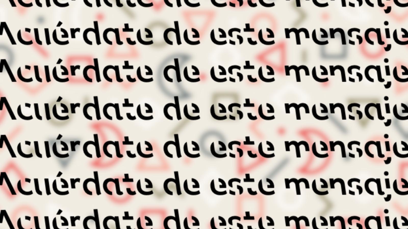 Nueva tipografía ayuda a recordar con facilidad lo que se lee