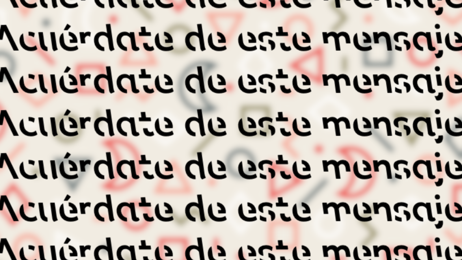 Científicos crean tipografía que ayuda a memorizar textos