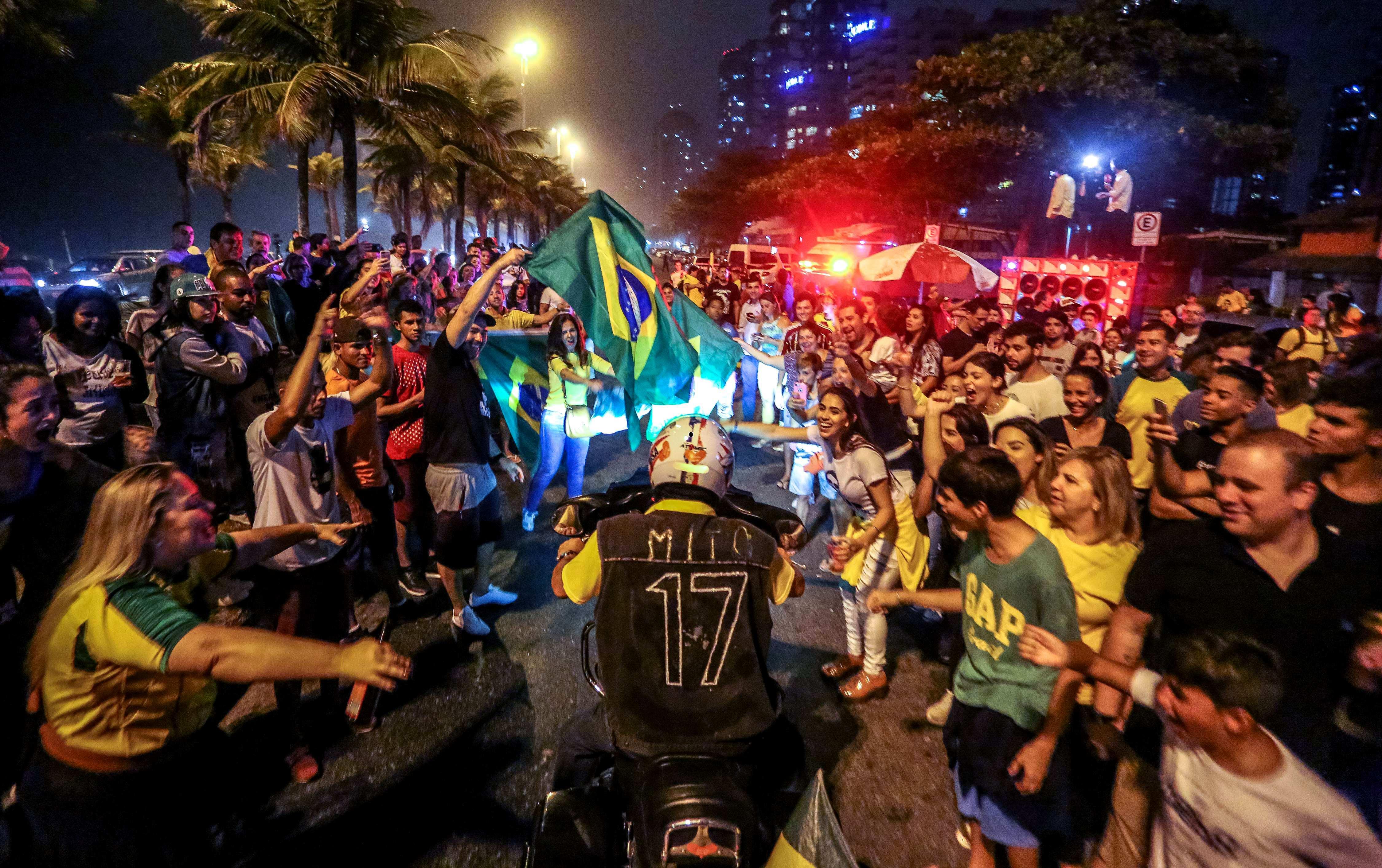 Encuestas confirman a Bolsonaro como gran favorito para segunda vuelta en Brasil