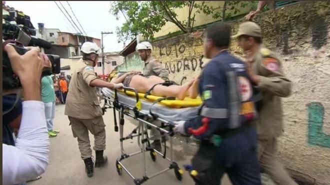 Al menos diez muertos tras un deslizamiento de tierra en Brasil — FOTOS