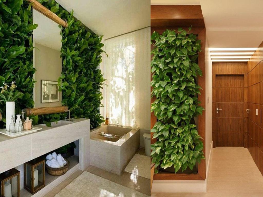 La tendencia de los jardines verticales - Jardin vertical en casa ...