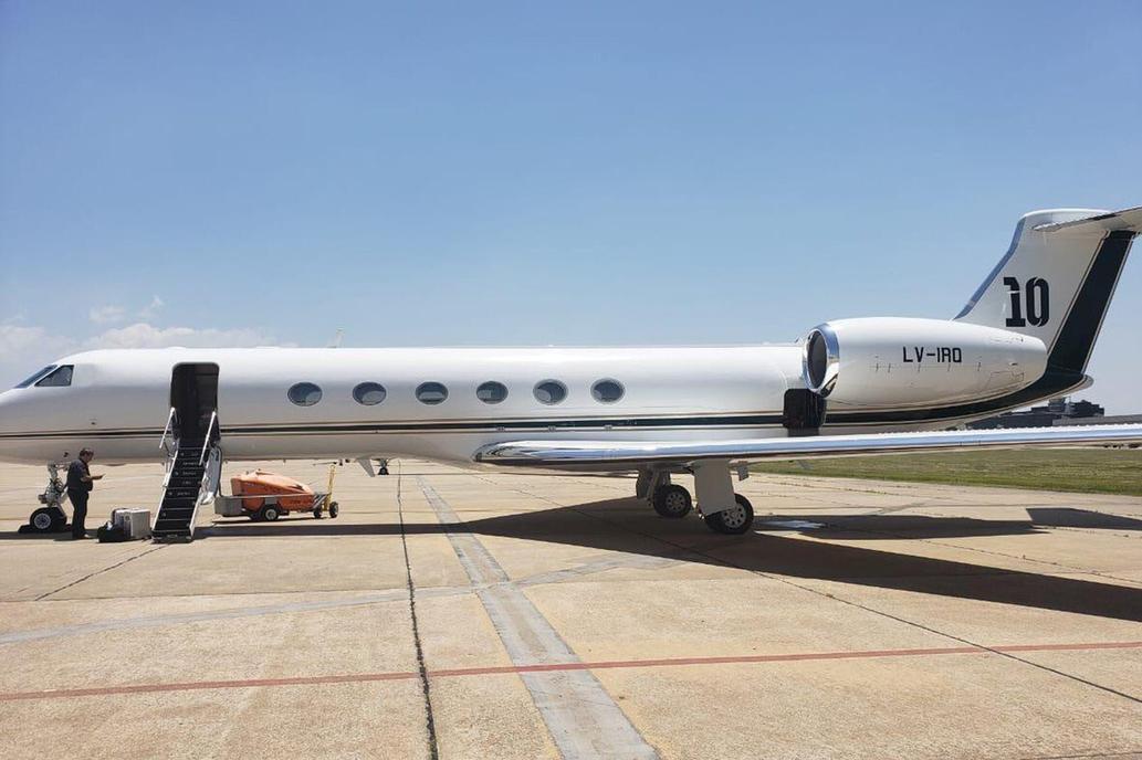 El nuevo lujo de Messi: un avión de 15 millones de dólares