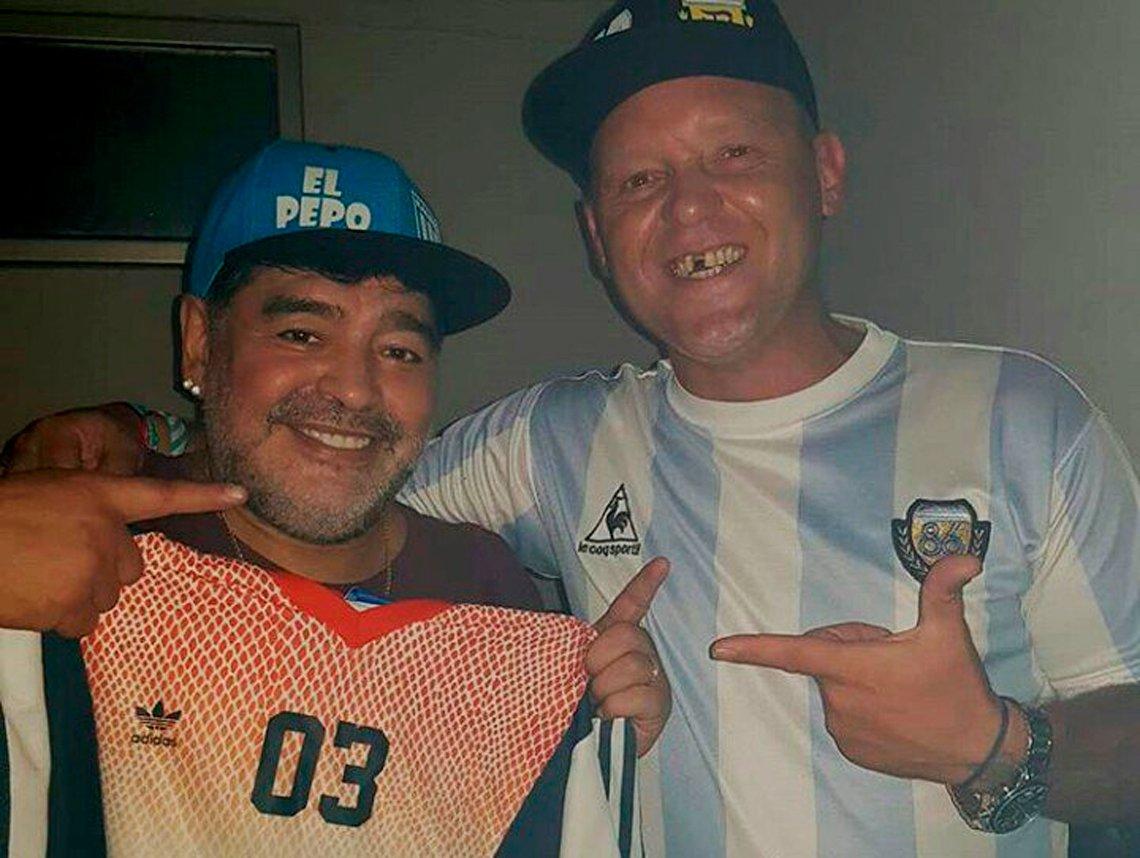 Diego Maradona y Rocío Oliva se refirieron a su crisis