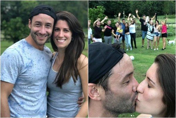 Luciano Pereyra presentó a su novia: ¿quién será?