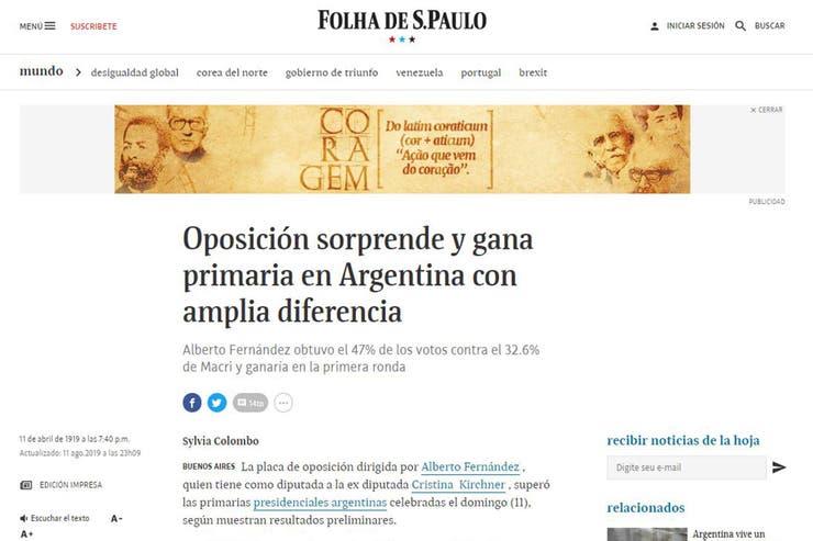 Tras la derrota en las PASO, Macri descartó cambios en el Gabinete