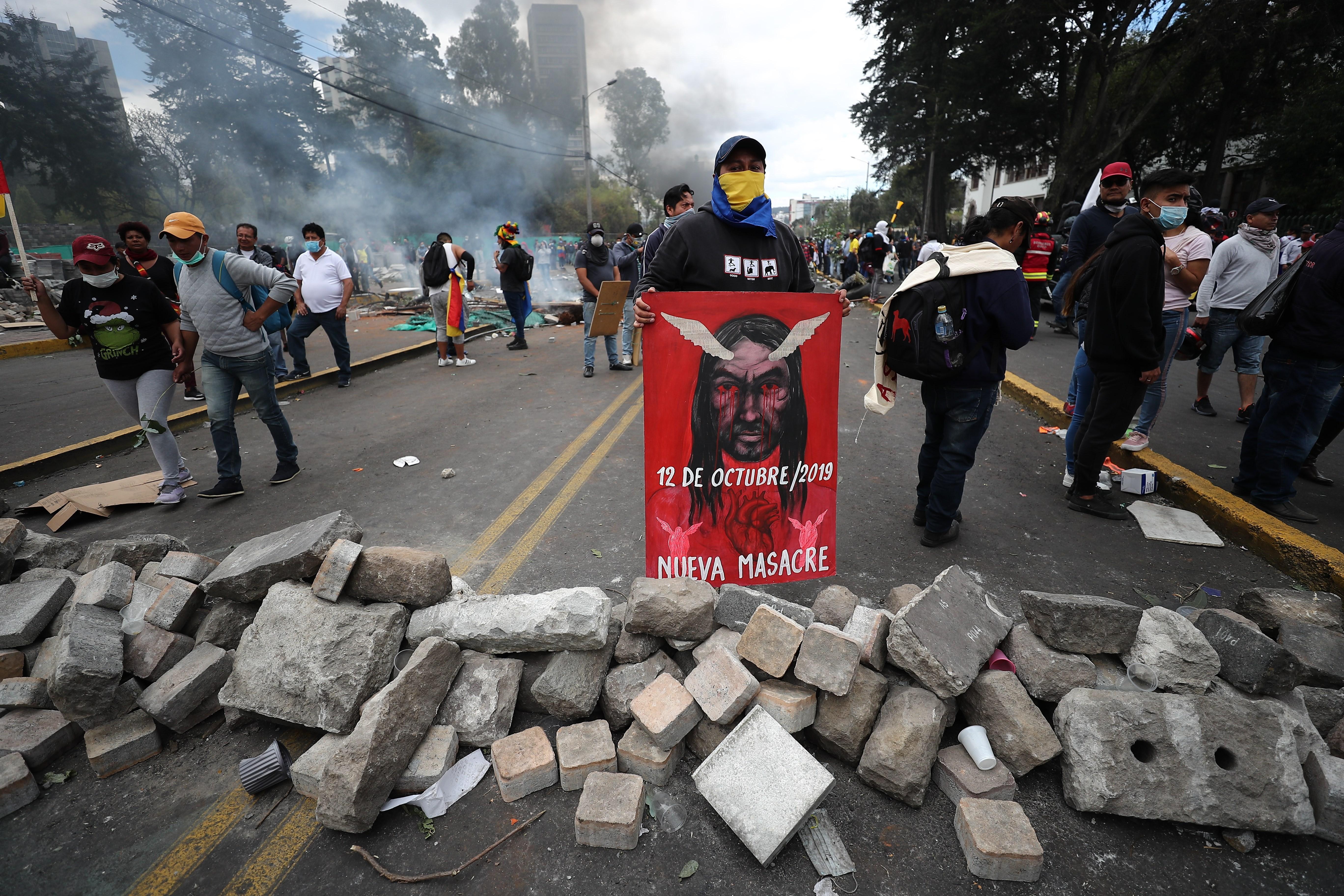 El acuerdo con los indígenas lleva calma a Quito - Actualidad