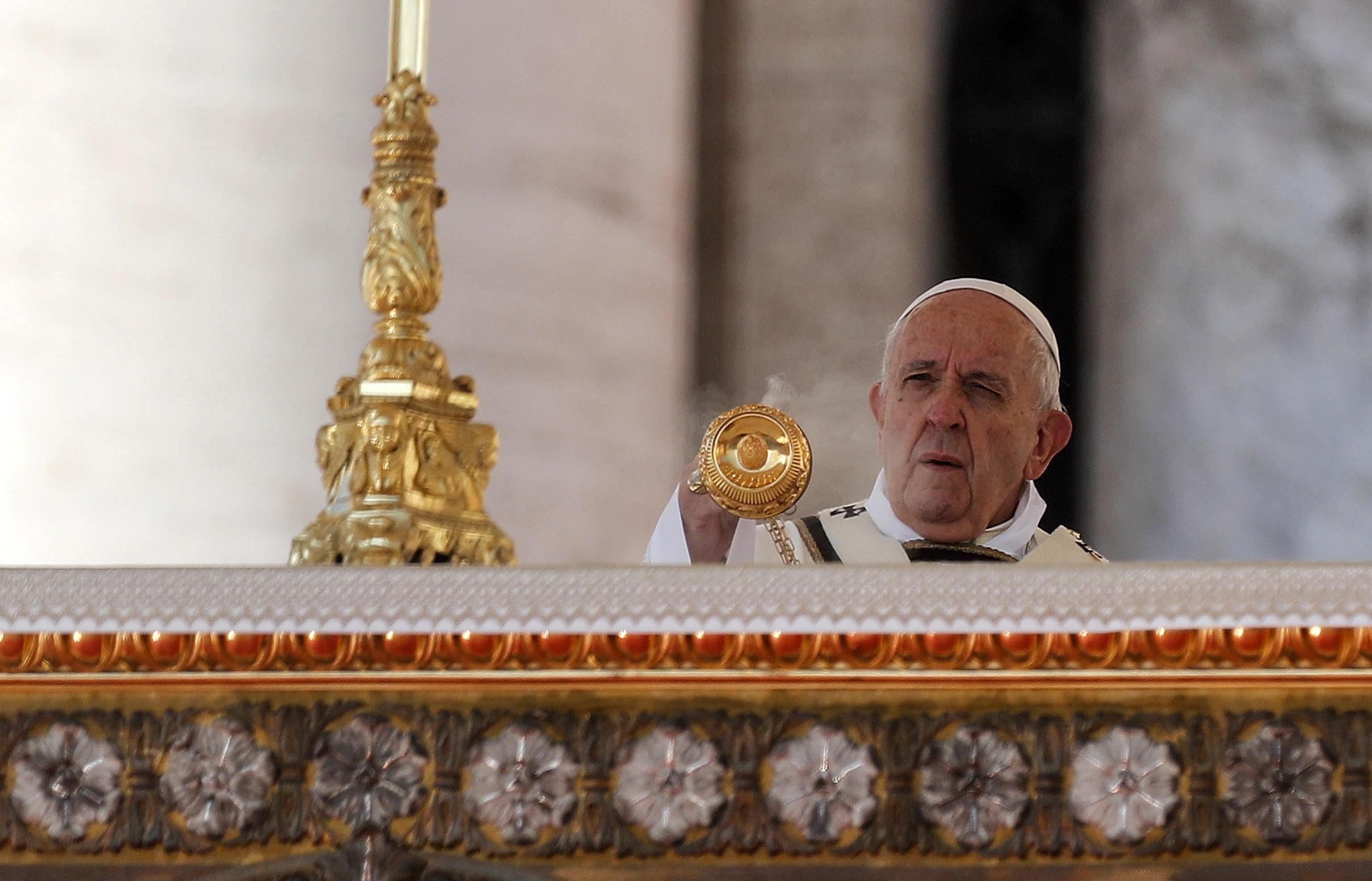 El papa Francisco pidió por la paz en Ecuador