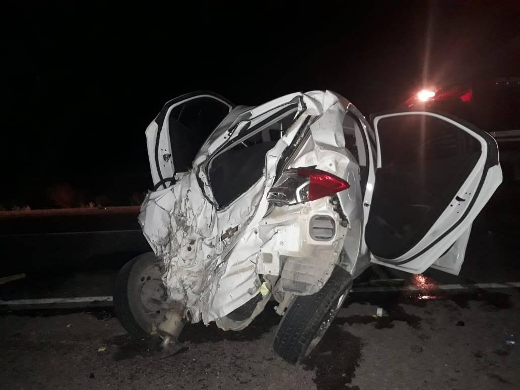 En fotos: impresionante choque múltiple con ocho heridos en Palmira - Diario ElSol.com.ar Mendoza