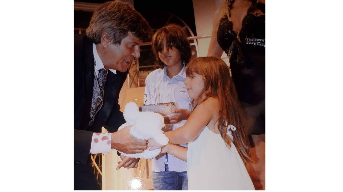 Emocionante saludo de la esposa de Carlín Calvo por su cumpleaños