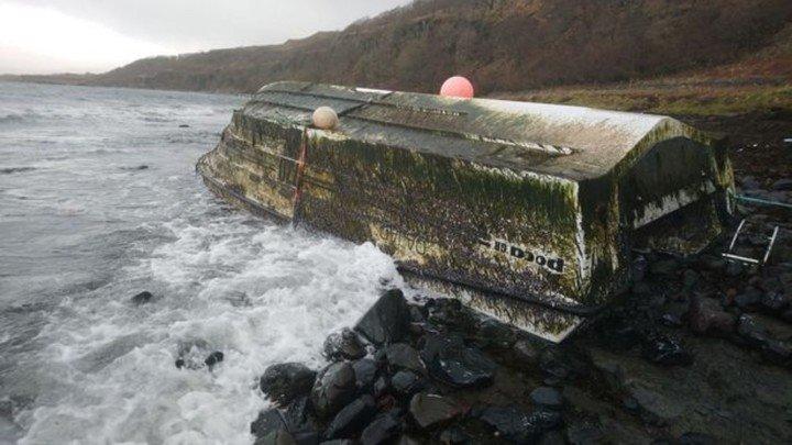 Encuentra bote perdido valuado en 60 mil dólares