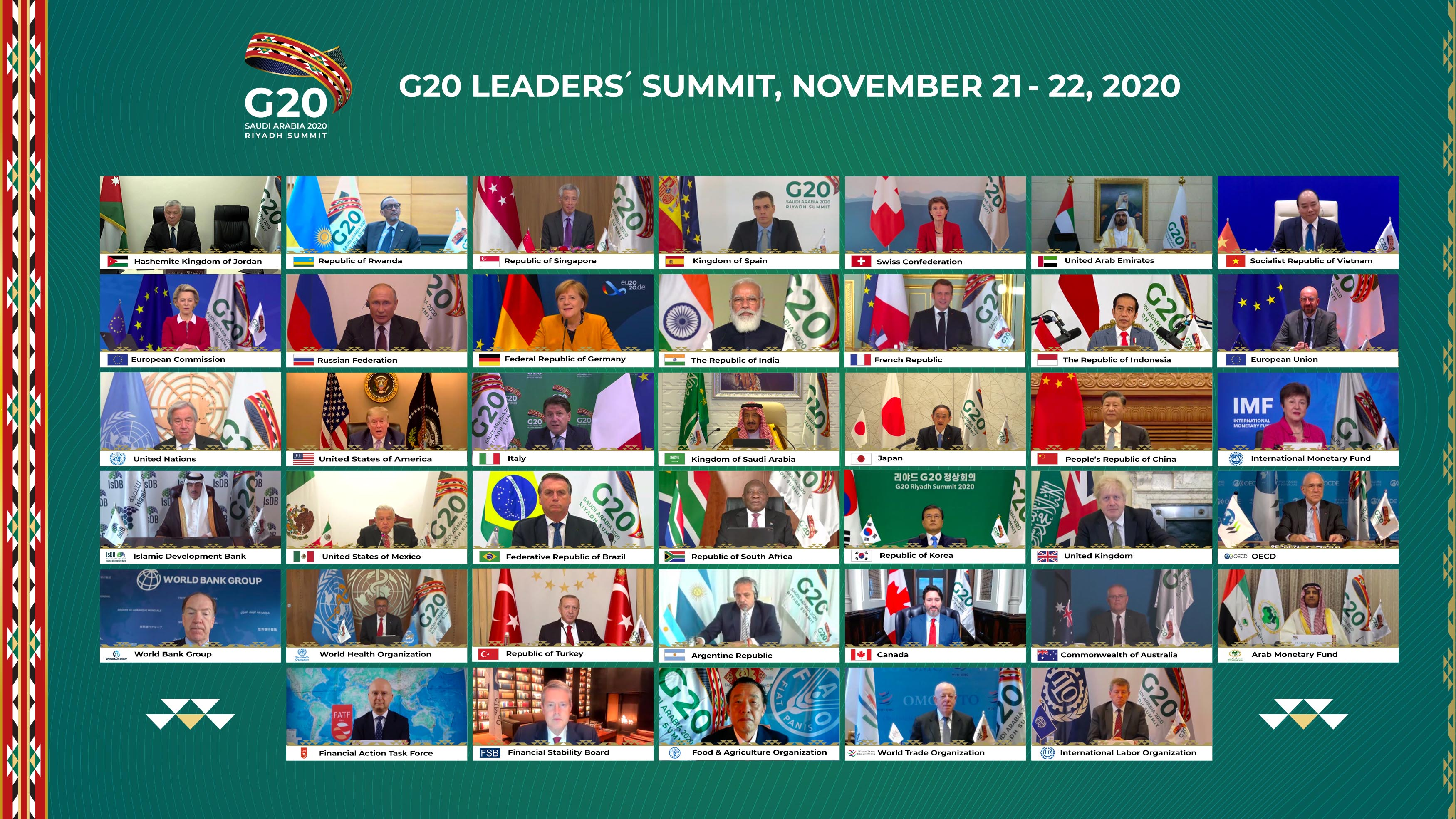 Los grandes temas en el arranque del G 20 — Pandemia y economía