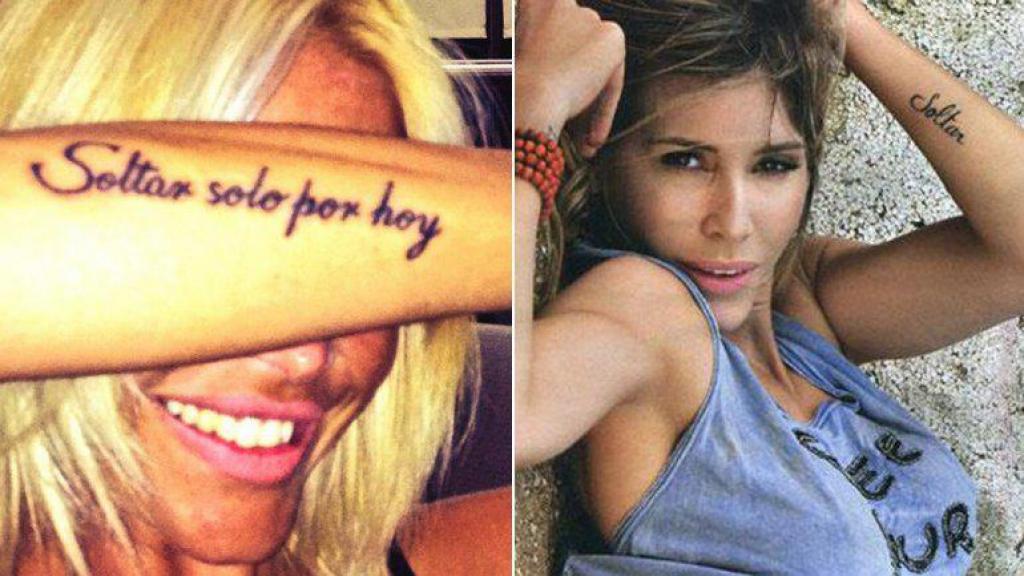 Fotos Famosas Con Tatuajes Repetidos Elsolcomar Diario De