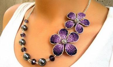 más fotos 531f4 04132 Collar en crochet para tejedoras principiantes - ElSol.com ...