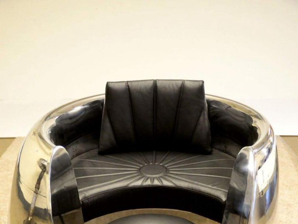 Crean Muebles Usando Partes De Aviones Y Son Hermosos Elsol Com  # Alto Vuelo Muebles